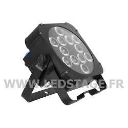 PAR LED PLAT RGBWA+UV 6 in 1 12x18W