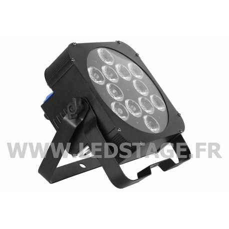 PAR LED PLAT RGBWA+UV 6 in 1 12x18W