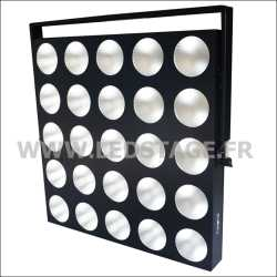 LED MATRIX 25 COB LED BLANC CHAUD 3000°K 3W