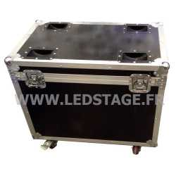 FLIGHT CASE double pour 2 Lyres LEDSTAGE LSB150