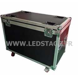 FLIGHT CASE double pour 2 lyres LEDSTAGE LS19X15