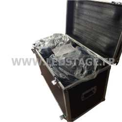 FLIGHT CASE double pour 2 Lyres LEDSTAGE LS425