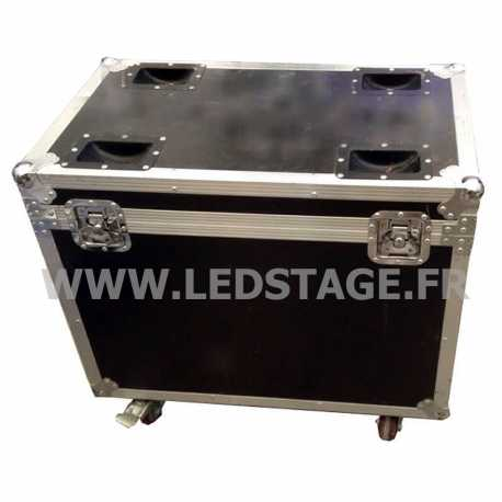 FLIGHT CASE double pour 2 lyres LEDSTAGE LS7X15