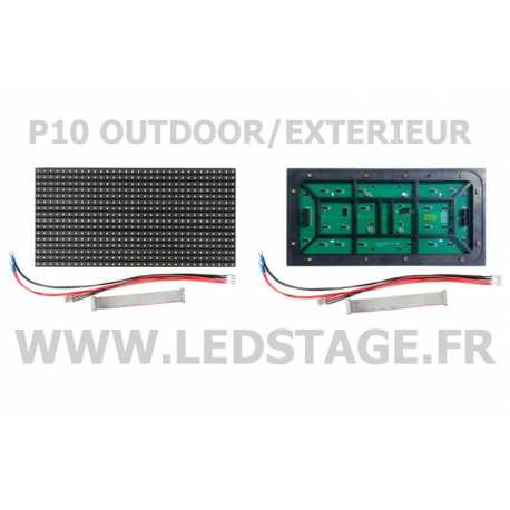 MODULE LED P10 (pitch 10mm) 320mm X 160mm IP65 outdoor