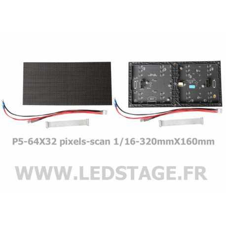 MODULE LED P5 (pitch 5mm) 320mm X 160mm