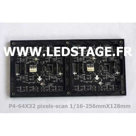 MODULE LED P4 (pitch 4mm) 256mm X 128mm