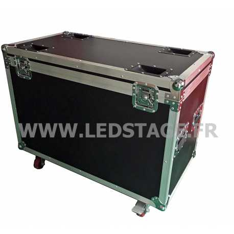 FLIGHT CASE double pour 2 lyres LEDSTAGE LS200Z