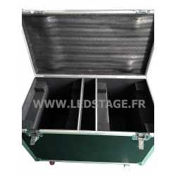 FLIGHT CASE double pour 2 lyres LEDSTAGE LS280A